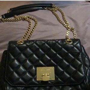 Authentic Michael Kors Sloan Quilted Leather Purse